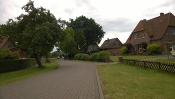 Những căn nhà ở Bardowick, ngoại ô Hamburg