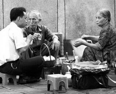 Một quán chè bệt ở Hà Nội