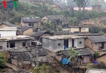 Bản Tả Chải, huyện biên giới Phong Thổ, Lai Châu, nơi xảy ra ngộ độc rượu do methanol với 8 người chết.